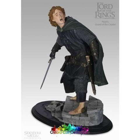 Lord Of The Rings Pippin Polystone Statue (Sideshow Weta)