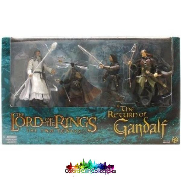 Lord Of The Rings The Return Gandalf Action Figure Set