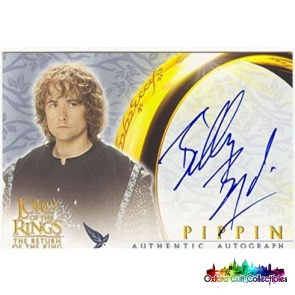 Lord Of The Rings The Return Of The King Pippin Authentic Autograph Card