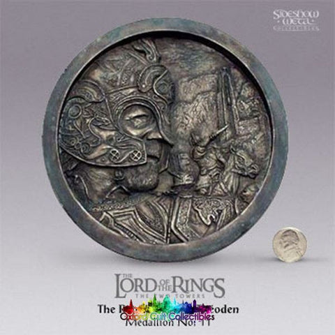 Lord Of The Rings The Return King Theoden Medallion No. 11 (Sideshow Weta)