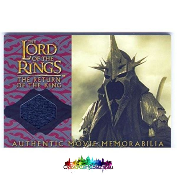 Lord Of The Rings The Return King Witch-Kings Cloak Authentic Costume Card