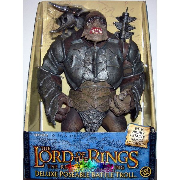 Lord Of The Rings Rotocast Battle Troll Figure