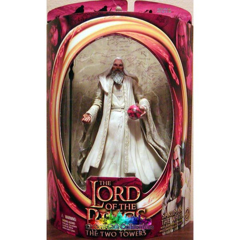 Lord Of The Rings Saruman White Action Figure