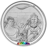 Lord Of The Rings Scenes In Silver Aragorns Coronation Coin