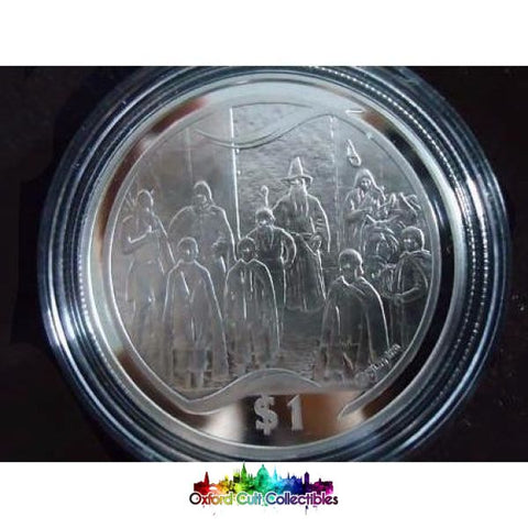 Lord Of The Rings Scenes In Silver The Fellowship Coin