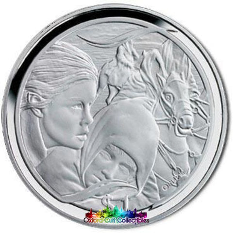 Lord Of The Rings Scenes In Silver Flight To Ford Coin