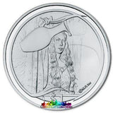 Lord Of The Rings Scenes In Silver Galadriels Mirror Coin