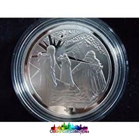 Lord Of The Rings Scenes In Silver Gandalf Appears Coin