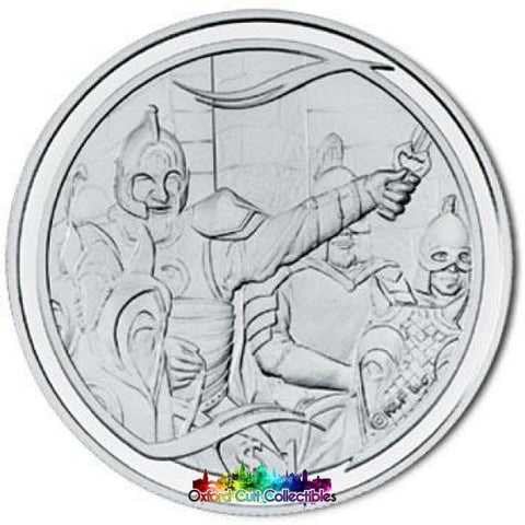 Lord Of The Rings Scenes In Silver King Theoden Rides Out Coin