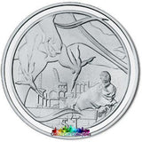 Lord Of The Rings Scenes In Silver Nazgul And Frodo Coin