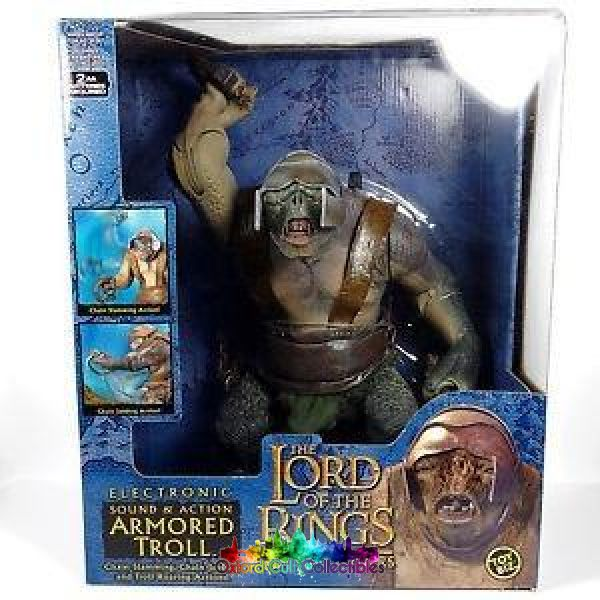Lord Of The Rings Slave Troll Deluxe Action Figure