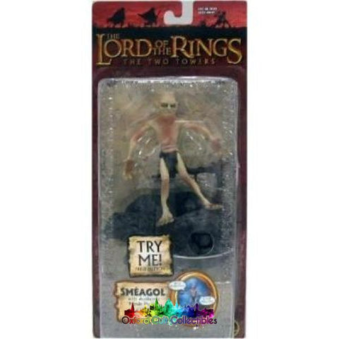 Lord Of The Rings Smeagol With Electric Sound Base Trilogy Action Figure
