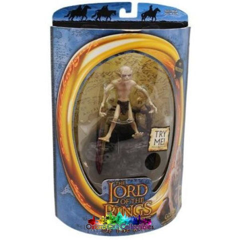 Lord Of The Rings Talking Gollum Rotk Action Figure