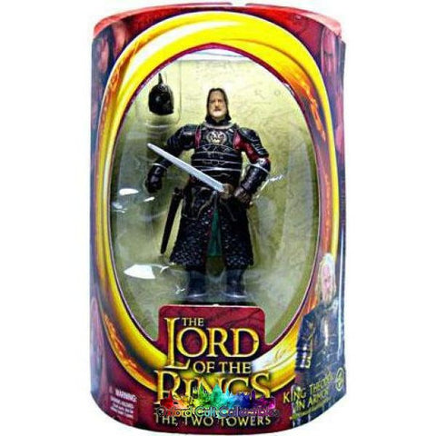 Lord Of The Rings Theoden In Armour Action Figure