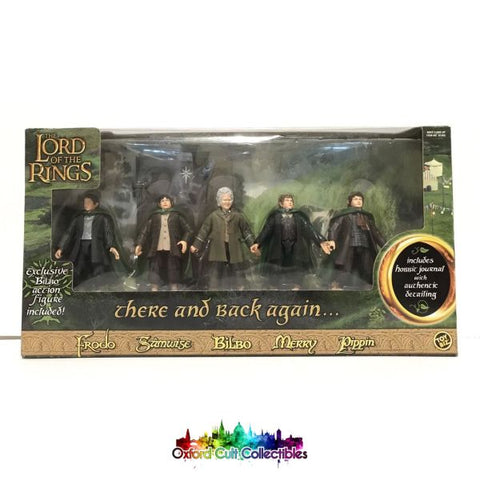 Lord Of The Rings There And Back Again Action Figure Set