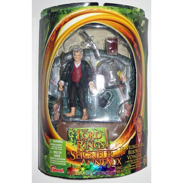 Lord Of The Rings Travelling Bilbo Fotr Action Figure