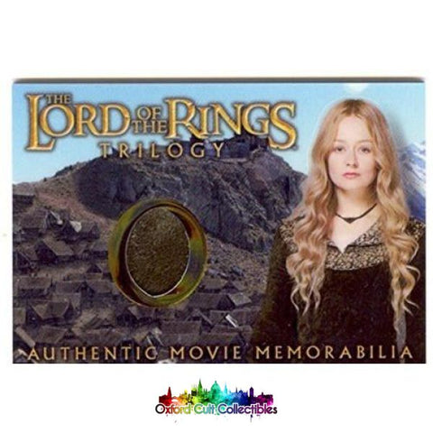 Lord Of The Rings Trilogy Eowyns Edoras Stables Dress Authentic Costume Card