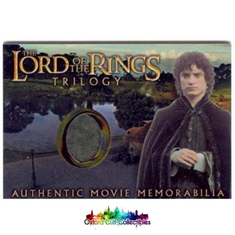 Lord Of The Rings Trilogy Frodos Elven Tunic Authentic Costume Card