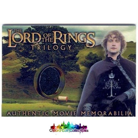 Lord Of The Rings Trilogy Pippins Gondorian Tunic Authentic Costume Card