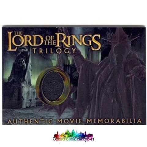Lord Of The Rings Trilogy The Witch-Kings Robe Authentic Costume Card