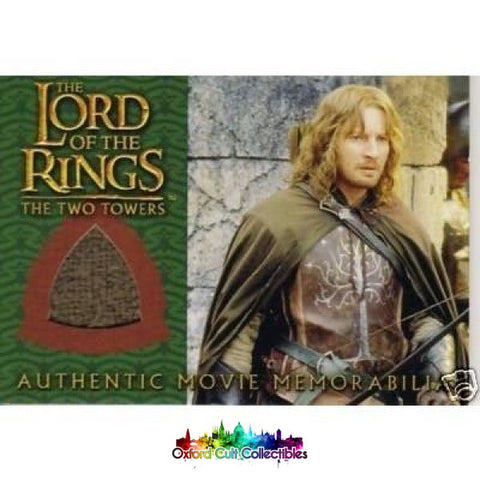 Lord Of The Rings The Two Towers Faramirs Ranger Outfit Authentic Costume Card