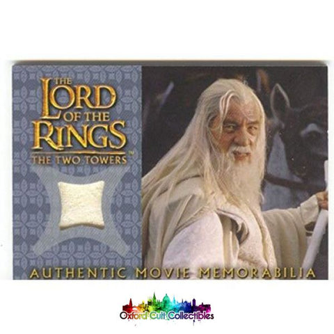 Lord Of The Rings The Two Towers Gandalfs Silk Shirt Authentic Costume Card
