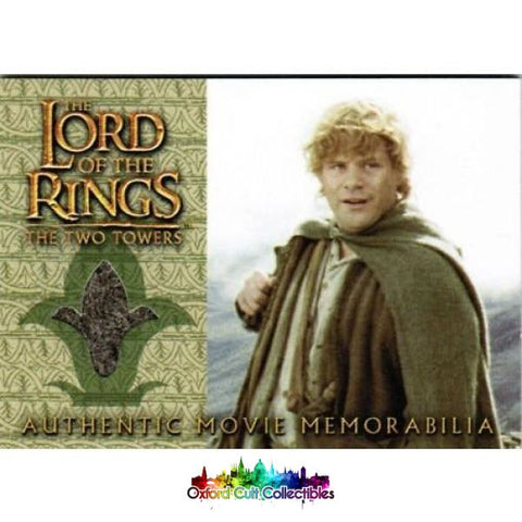 Lord Of The Rings The Two Towers Sams Travel Jacket Authentic Costume Card