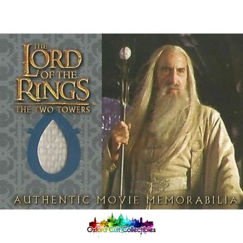 Lord Of The Rings The Two Towers Sarumans Overtunic Authentic Costume Card