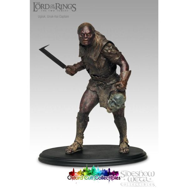 Lord Of The Rings Ugluk Polystone Statue (Sideshow Weta)