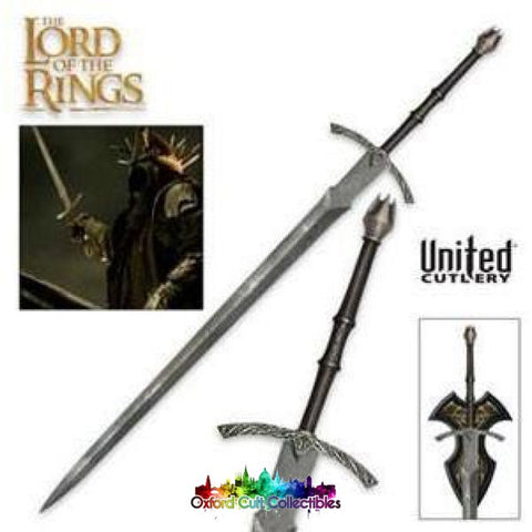 Lord Of The Rings United Cutlery Sword Witchking Prop Replica