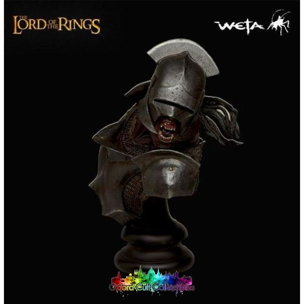 Lord Of The Rings Uruk Hai Polystone Bust (Sideshow Weta)