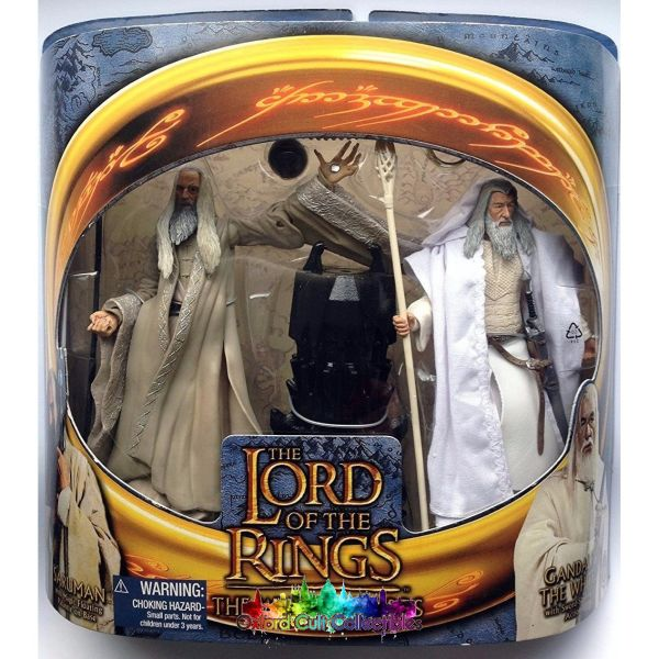 Lord Of The Rings The White Wizards Action Figure Set