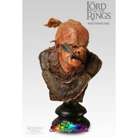 Lord Of The Rings Wounded Orc Polystone Bust (Sideshow Weta)
