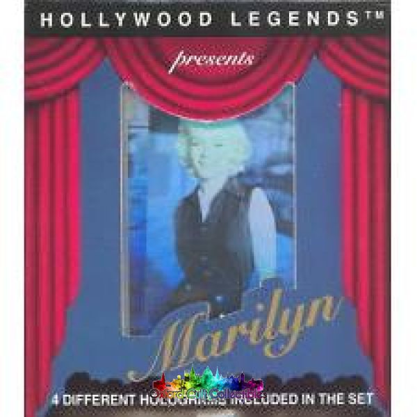 Marilyn Monroe Holographic Trading Card Set