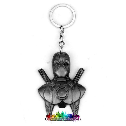 Marvels Deadpool Metal Keyring Bottle Opener