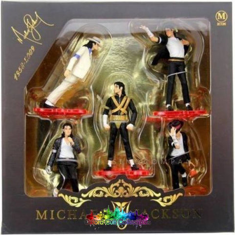 Michael Jackson King Of Pop Dangerous Figurine Collection