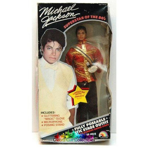 Michael Jackson Superstar Of The 80S Collectible Doll