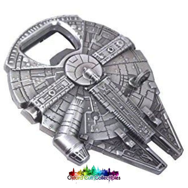 Millennium Falcon Metal Bottle Opener