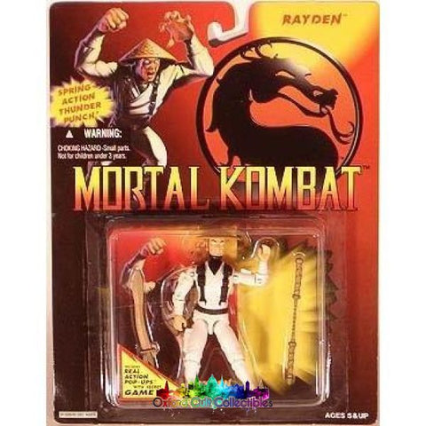 Mortal Kombat Rayden Action Figure