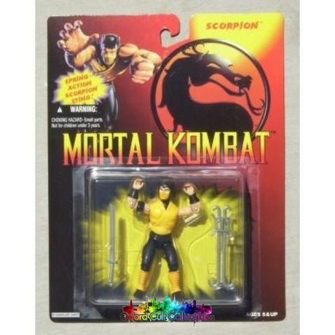 Mortal Kombat Scorpion Action Figure