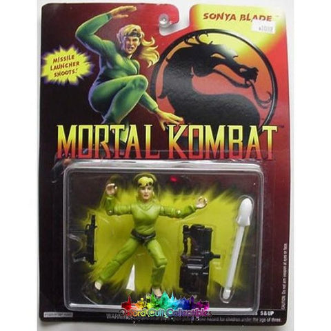 Mortal Kombat Sonya Blade Action Figure