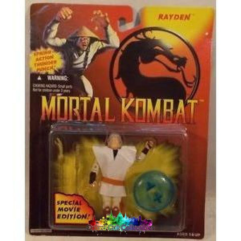 Mortal Kombat Special Movie Edition Rayden Action Figure