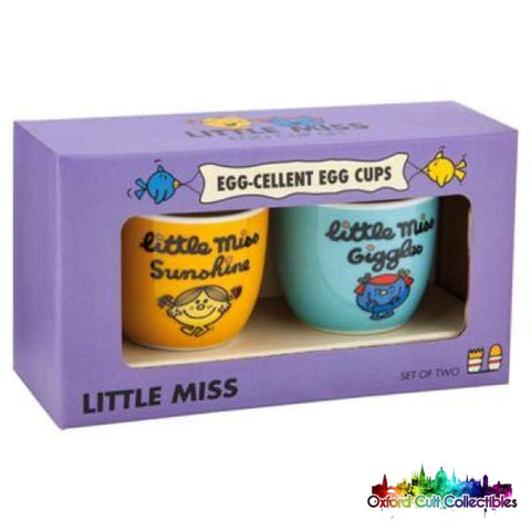 Mr Men & Little Miss Little Miss Princess And Little Miss Sunshine Set Of Two Egg Cups