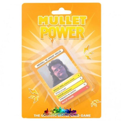 Mullet Power Ultimate Battle Card Game
