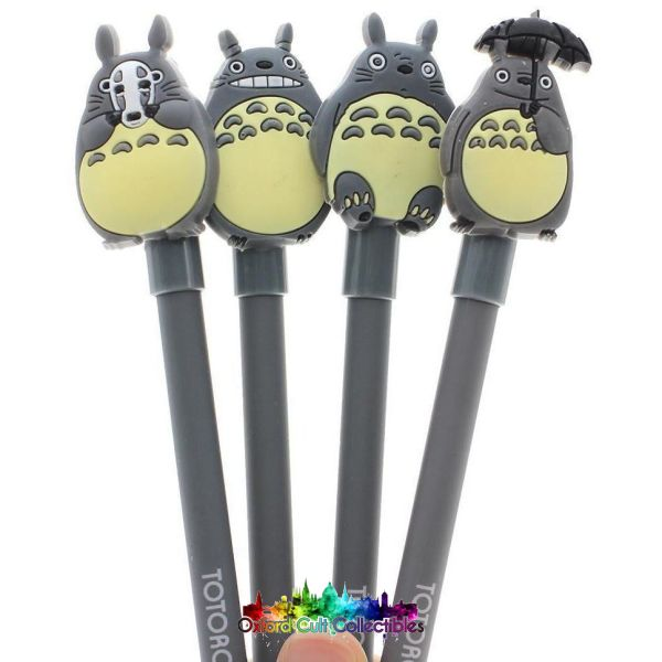 My Neighbour Totoro Set Of 4 Gel Pens
