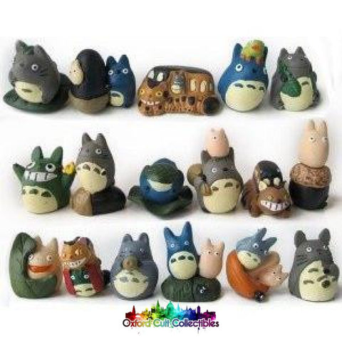 My Neighbour Totoro Studio Ghibli Mini Figurine Set