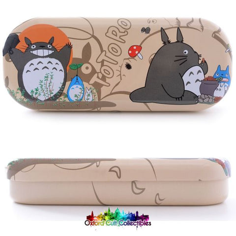 My Neighbour Totoro Tin Box Protector For Glasses Pencil Case Jewellery Or Your Most Prized Possessions.