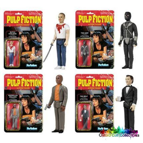 Pulp Fiction Set Of 6 Action Figures
