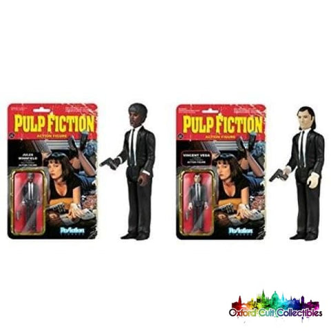 Pulp Fiction Vincent Vega & Jules Winnifield Action Figure Set
