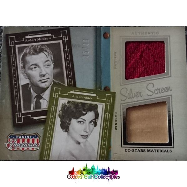 Robert Mitchum And Ava Gardner My Forbidden Past Costume Card